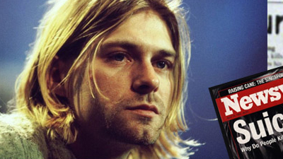 Kiurt Cobain from Nirvana. We look at his death and suicide on this anniversary of his passing. Hot Metro Finds